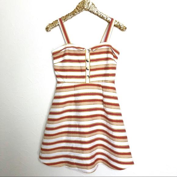 Francesca's Collections Dresses & Skirts - Francesca's Miami Striped Sundress